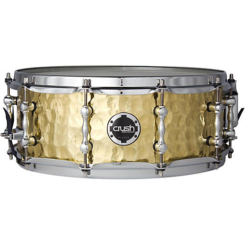 Crush Drums & Percussion Hand Hammered Brass Snare Drum