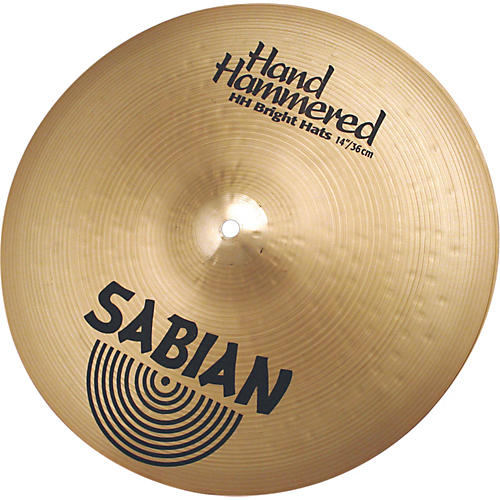 Sabian Hand Hammered Bright Hi-Hats Brilliant