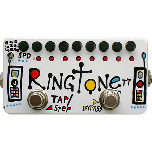 ZVex Hand-Painted Ringtone TT Ring Modulation Guitar Effects Pedal