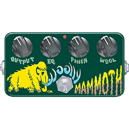 ZVex Hand-Painted Woolly Mammoth Fuzz Bass Effects Pedal