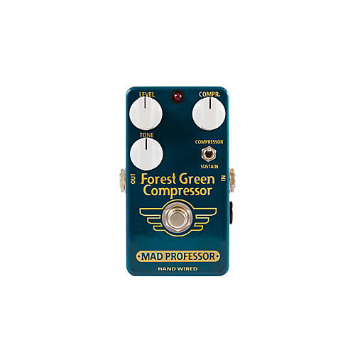 Mad Professor Hand Wired Forest Green Compressor/Sustainer Guitar Effects Pedal