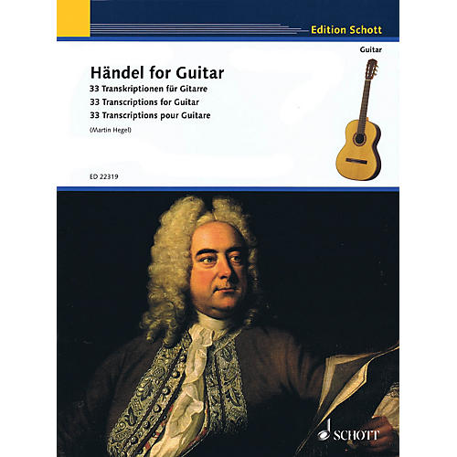 Schott Handel for Guitar (33 Transcriptions for Guitar) Guitar Series Softcover