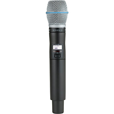 Shure Handheld Transmitter with Beta 87A Microphone Capsule