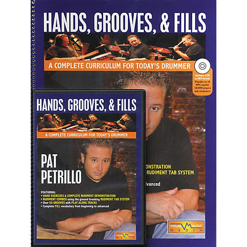 Hudson Music Hands Grooves and Fills Book and CD (A Complete Curriculum For Today's Drummer Book/CD/DVD)
