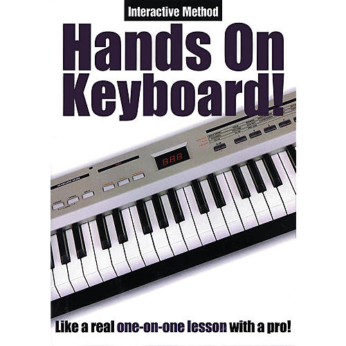 Music Sales Hands On Keyboard! (Interactive Method) Music Sales America Series DVD Written by Todd Rogers