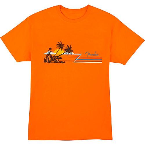 Fender Hang Loose T-Shirt XX Large Orange