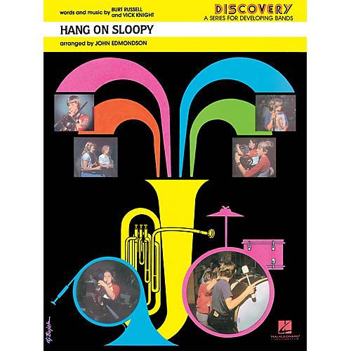 Hal Leonard Hang On Sloopy Concert Band Level 1.5 Arranged by John Edmondson