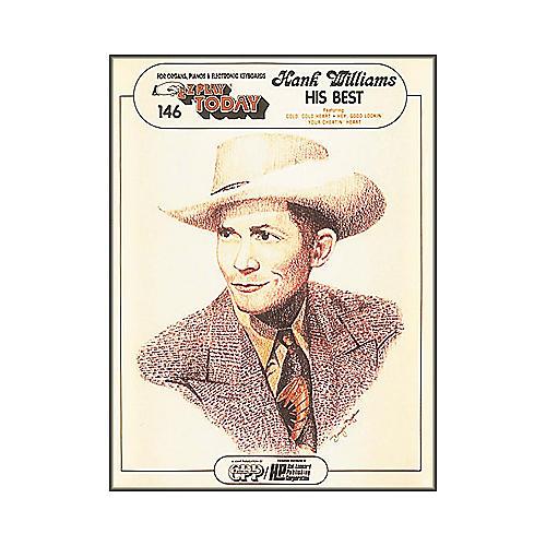 Hal Leonard Hank Williams - His Best E-Z Play 146