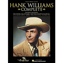 Hal Leonard Hank Williams Complete Songbook