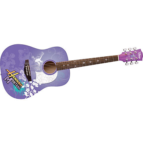 Disney by Washburn Hannah Montana 3/4 Scale Acoustic Guitar