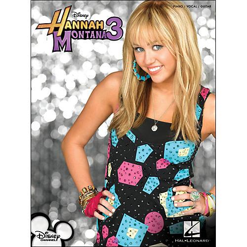 Hal Leonard Hannah Montana 3 arranged for piano, vocal, and guitar (P/V/G)