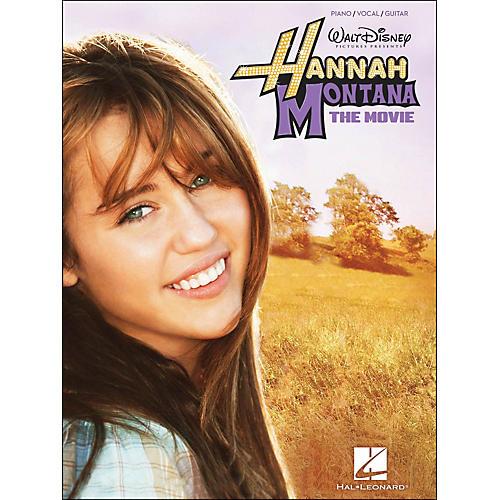Hal Leonard Hannah Montana: The Movie arranged for piano, vocal, and guitar (P/V/G)