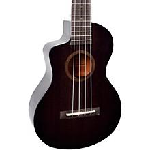 Mahalo Hano Elite MH2CELTBK-U Left-Handed Concert Acoustic-Electric Ukulele