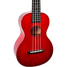 Hano Series MH2 Concert Ukulele Transparent Wine Red
