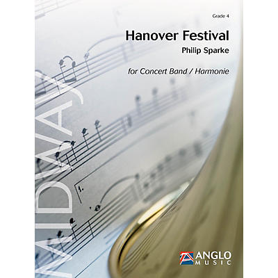 Anglo Music Press Hanover Festival (Grade 4 - Score Only) Concert Band Level 5 Composed by Philip Sparke