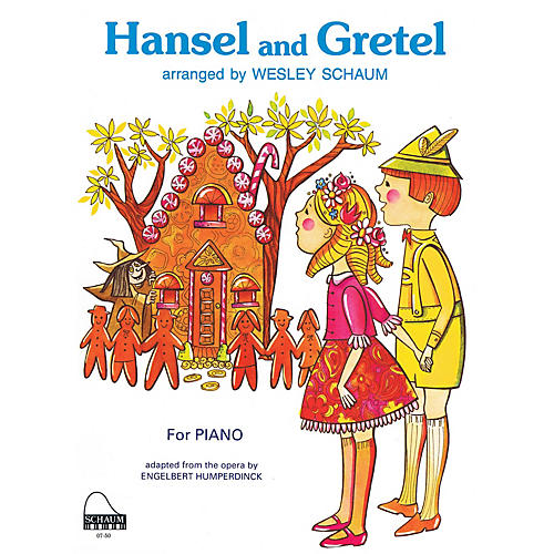 SCHAUM Hansel and Gretel Educational Piano Series Softcover