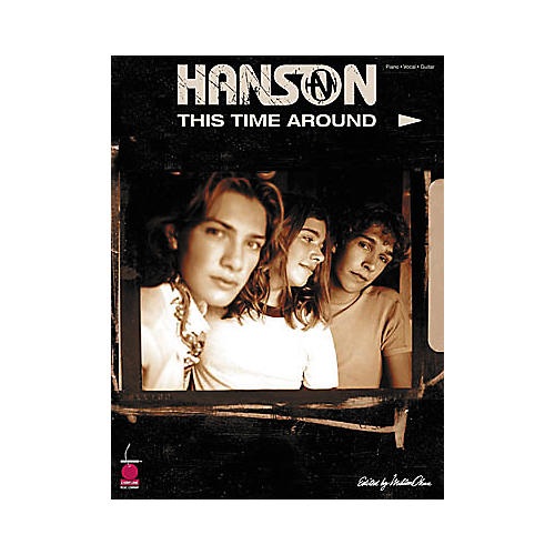 Cherry Lane Hanson - This Time Around Book