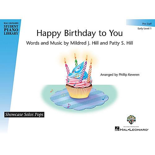 Hal Leonard Happy Birthday to You Piano Library Series (Level 1)