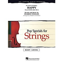 Hal Leonard Happy Easy Pop Specials For Strings Series by Pharrell Williams Arranged by Robert Longfield