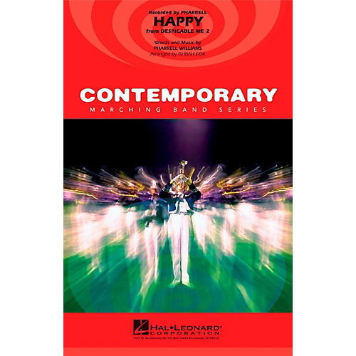 Hal Leonard Happy (From Despicable Me 2) - Pep Band/Marching Band Level 3