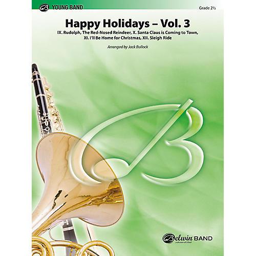 BELWIN Happy Holidays, Vol. 3 Grade 2 (Easy)