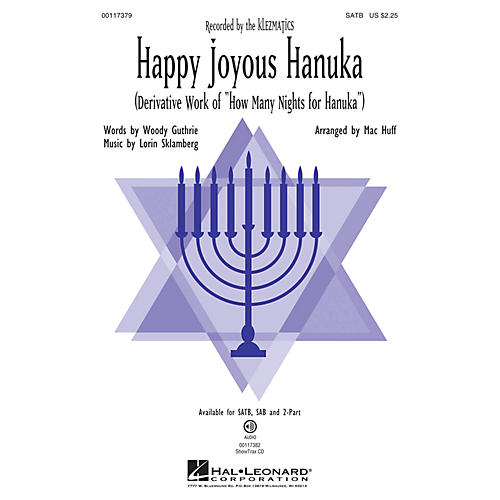 Hal Leonard Happy Joyous Hanuka ShowTrax CD by Klezmatics Arranged by Mac Huff