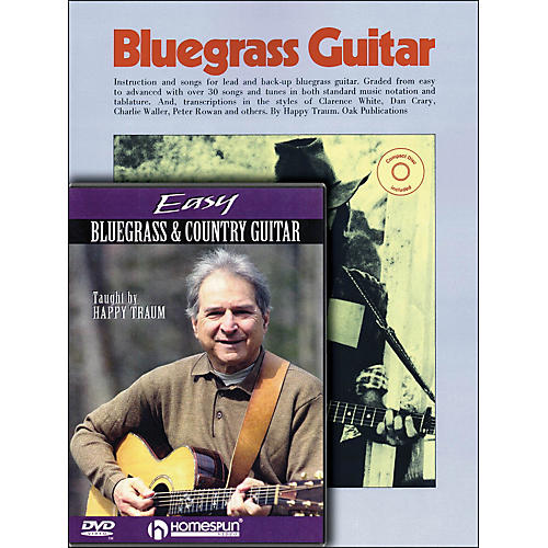 Homespun Happy Traum Bluegrass Guitar Mega Pack