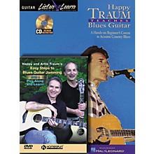 Homespun Happy Traum Teaches Blues Guitar pack