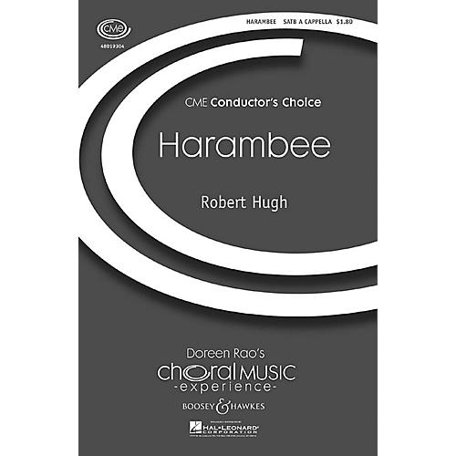 Boosey and Hawkes Harambee (CME Conductor's Choice) SATB a cappella composed by Robert Hugh