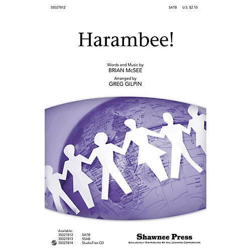 Shawnee Press Harambee! (Together We Sing Series) Studiotrax CD Arranged by Greg Gilpin