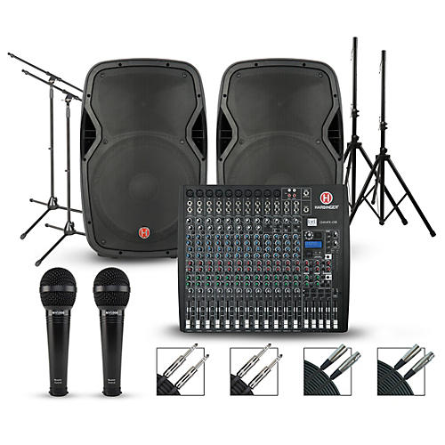 Harbinger Harbinger L2404FX Mixer with Harbinger Vari PA Package