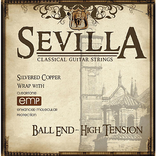 Sevilla Classical Guitar Strings Hard Tension Classical Ball End Guitar Strings