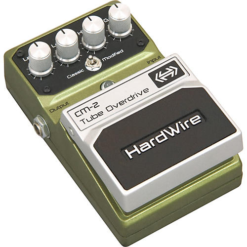 HardWire Series CM-2 Tube Overdrive Guitar Effects Pedal
