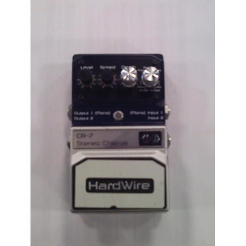 HardWire Series CR7 Stereo Chorus Effect Pedal