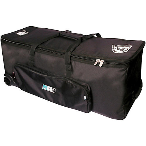 Protection Racket Hardware Bag with Wheels 38 in. Black