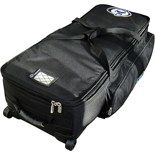 Protection Racket Hardware Bag with Wheels 47 in. Black