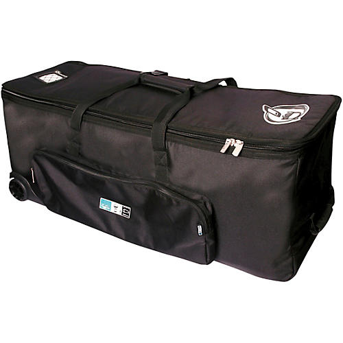 Protection Racket Hardware Bag with Wheels 54 in. Black