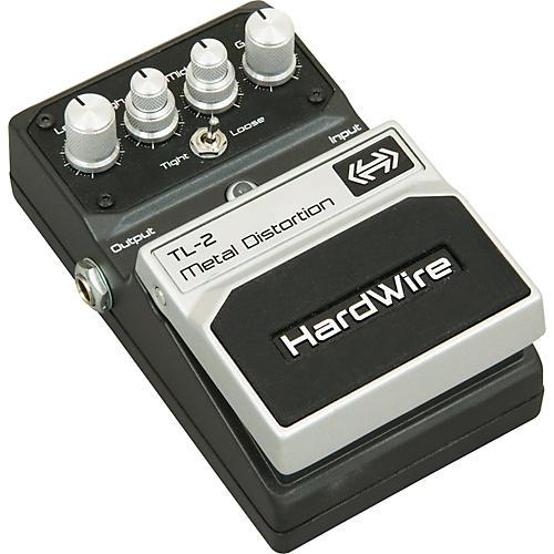 DigiTech Hardwire Series TL-2 Metal Distortion Guitar Effects Pedal