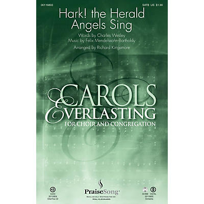 PraiseSong Hark! The Herald Angels Sing SATB arranged by Richard Kingsmore