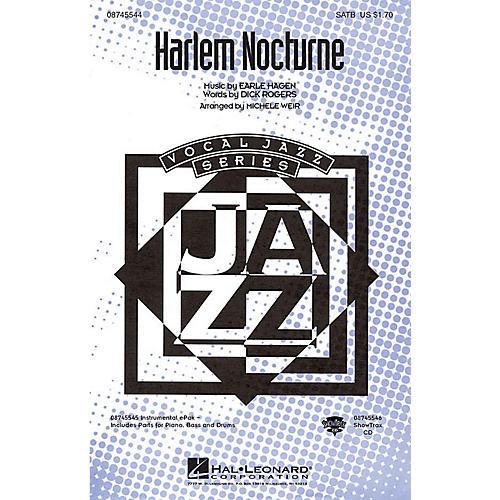 Hal Leonard Harlem Nocturne SATB arranged by Michele Weir