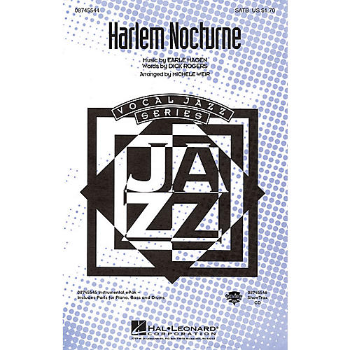 Hal Leonard Harlem Nocturne ShowTrax CD Arranged by Michele Weir