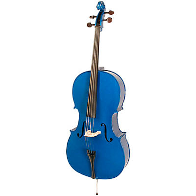 Stentor Harlequin Series Blue Cello