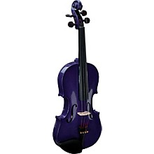Harlequin Series Violin Outfit 1/2 Outfit Purple