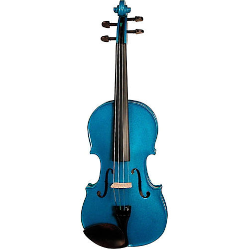 Stentor Harlequin Series Violin Outfit 4/4 Outfit Blue