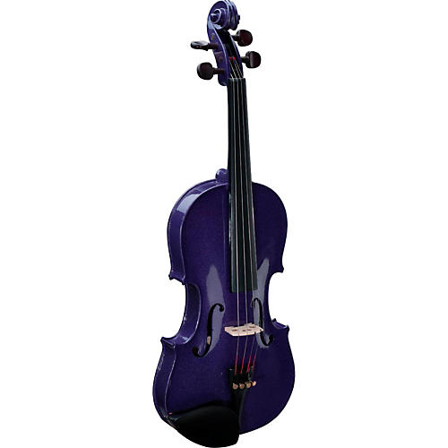 Stentor Harlequin Series Violin Outfit Condition 1 - Mint 4/4 Outfit Purple