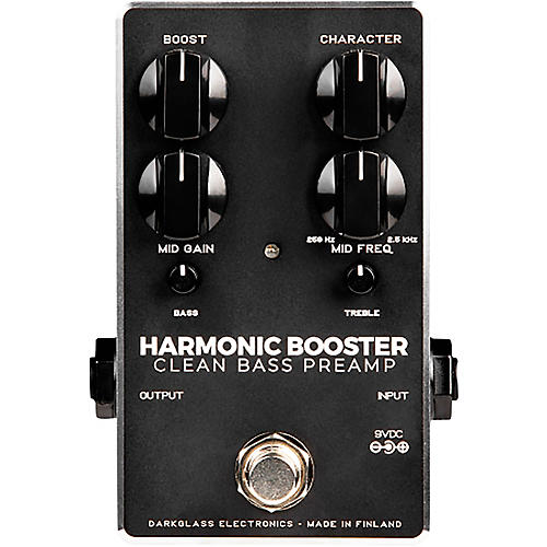 Darkglass Harmonic Booster Bass Preamp Pedal