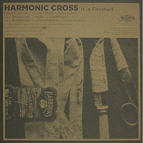 Alliance Harmonic Cross - It Is Finished