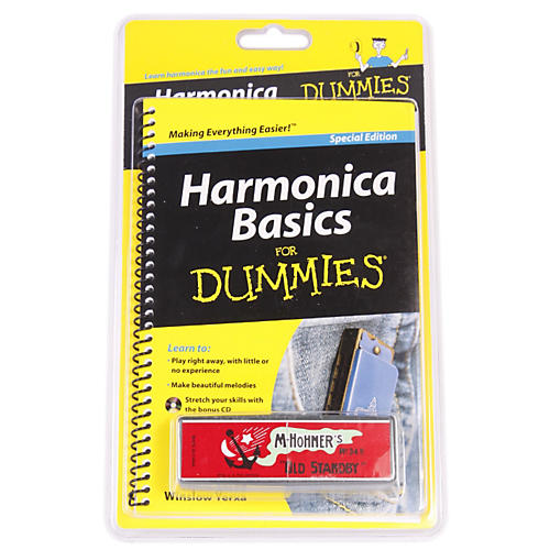 For Dummies Harmonica For Dummies Starter Package