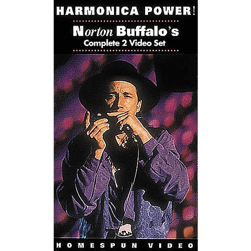 Hal Leonard Harmonica Power! - 2-Video Set