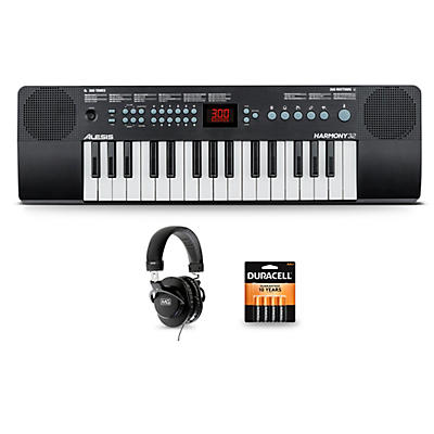 Alesis Harmony 32 with Headphones and Batteries